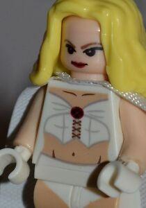 Custom made for LEGO blocks EMMA FROST USA DC MARVEL ...