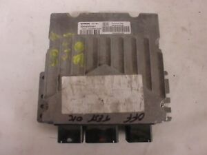 calculateur immo OFF siemens SID 801, 5WS40030B-T , 9646449280 (réf 3252 C)