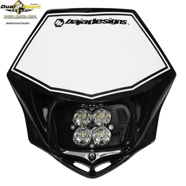 Baja Designs, Escadron Sport, M/C , D/C LED Course Léger Noir, 557001BK