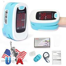 Fda Led Fingertip Pulse Oximeter Blood Oxygen Meter Spo2 Heart Rate Monitorusa