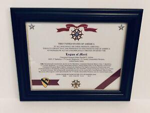 Military-Commemorative-LEGION-OF-MERIT-Commemorative-Certificate