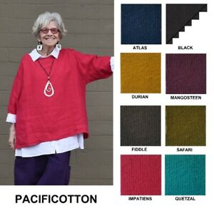 PACIFICOTTON-Bryn-Walker-Pacific-Cotton-RESORT-SHIRT-Boxy-Top-S-M-L-XL-SPR-2019