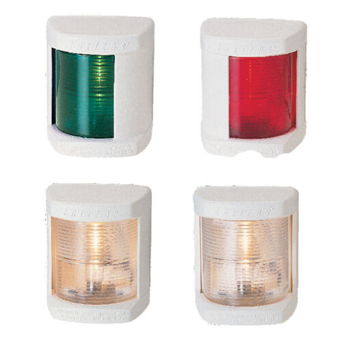 up to 12m Set of 4 Lalizas /'Classic N12/' navigation lights for boat yacht etc