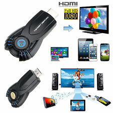 Chromecast Wifi Kabellos Anzeige Dongle Receiver 1080P HDMI Für Youtube/Netflix