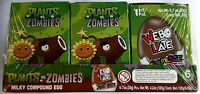 Plants Vs Zombies Chocolate Egg Toy Surprise Box Of 6 Free Shipping