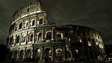 POSTER COLOSSEO AS ROMA ROME COLISEUM CITTA' CITY ITALIA ITALY PANORAMA FOTO #3