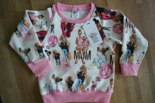 Baby Girls sweatshirt// Jumper 3 months - 6 years Handmade