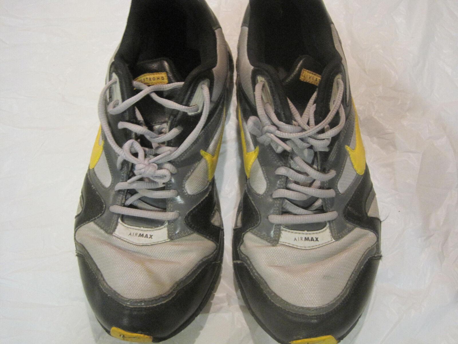 Nike AirMax Men's Sneakers Shoes~Gray Black~Size 13 US~LBDWN