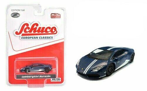 Lamborghini Huracan  Dark Blue  *RR* Schuco ltd 2400 pcs MiJo USA 1:64 OVP