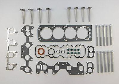 Kopfdichtung Satz Schrauben Ventile Astra Combo Corsa Meriva 1.6 8v Z16se Holden