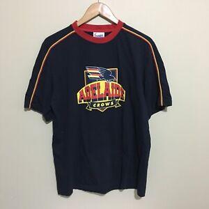 Adelaide-Crows-Vintage-Logo-AFL-Football-T-Shirt-Mens-Large