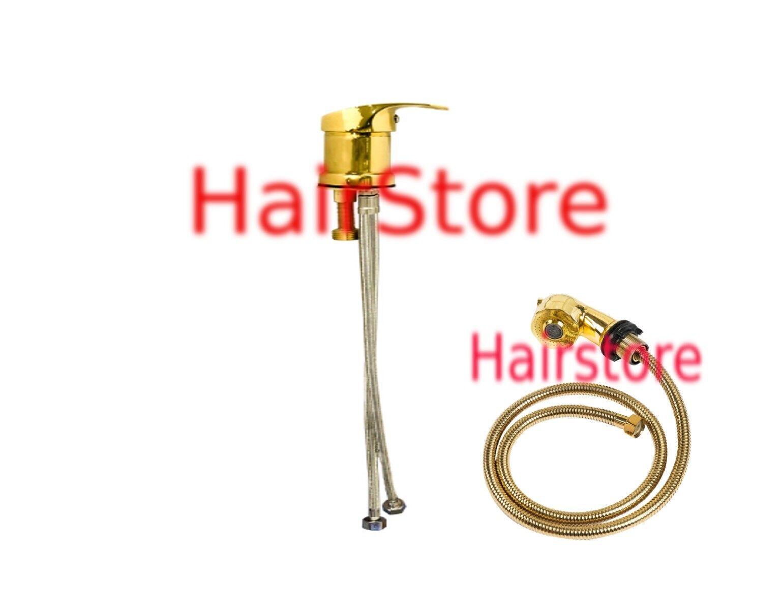 Hairstore PREMIUM oro mixer rubinetto con soffione della doccia due diverse modalità VAPORIZZATORE