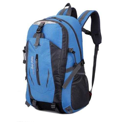 50L Travel Hiking Backpack Waterproof Shoulder Bag Pack Outdoor Camping Rucksack