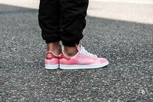 sports shoes c810c b4fed Adidas PHARRELL WILLIAMS HU HOLI STAN SMITH SHOES RED AC7044 ...