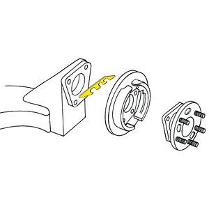 MOOG Rear Alignment Camber Shim for 1997-2008 Pontiac Grand Prix Wheel wn