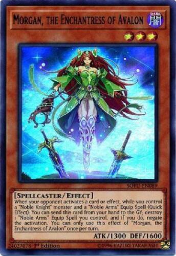 Morgan the Enchantress of Avalon SOFU-EN089 Mint Holo Foil SOUL FUSION