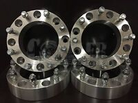 4 X 2 Thick 8 Lug Wheel Spacers Dodge Ram 2500 3500 Dually 9/16 Studs