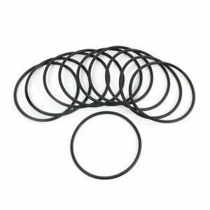 10 Pcs Silicone O Ring Seal Sealing Washer 42mm x 48mm x 3mm