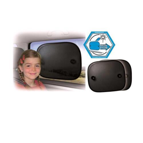 2 Stück UV Sonnenschutz-Set in Schwarz universal