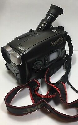 Jvc Compact Vhs Camcorder Gr Ax94 For Parts Or Repair Only Ebay