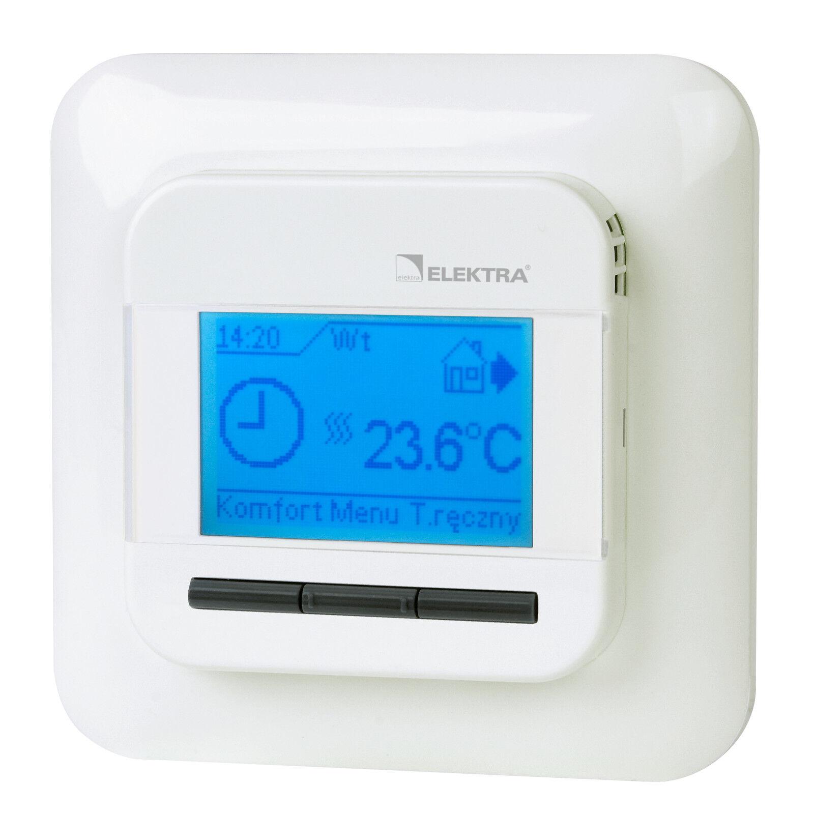 Temperaturregler MicrolineTyp OCD4 1999 für für für Fußbodenheizungen c4b955