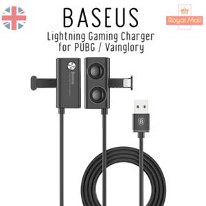 Plomo De Juegos 1M Baseus HQ Lightning Cable Cargador rápido para iPhone 7 8 X Xr XS Max
