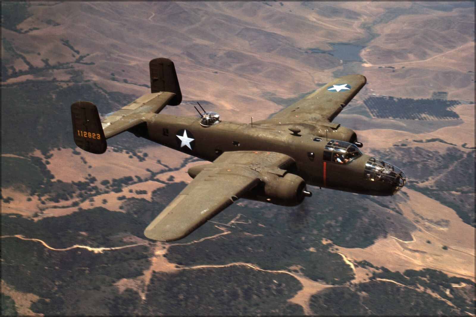 Poster, Molte Misure; North American B-25 Mitchell Bombardiere 1942
