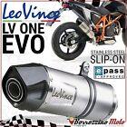 POT SILENCIEUX ECHAPPEMENT APPROUVE LEOVINCE LV ONE EVO KTM DUKE 690 2014 2015