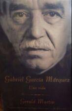Gabriel Garcia Marquez: Una Vida by Gerald Martin new paperback Spanish