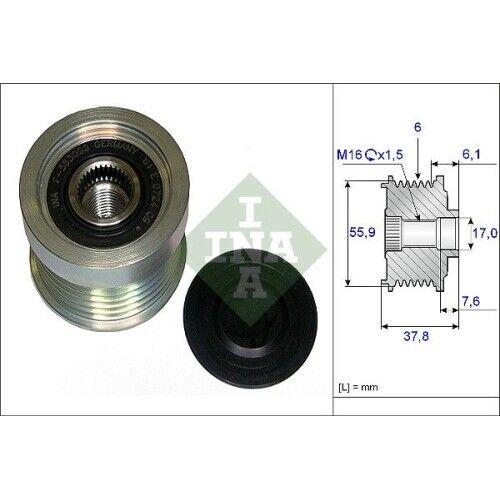 1 Generatorfreilauf INA 535 0072 10 passend für VOLVO