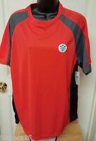 Pbx Pro Men's Orange/black/gray Shirt Size M