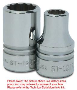 21-32-034-12Pt-Shallow-1-2-034-Drive-Supertorque-High-Polished-Chrome-USA-Socket-ST-1221