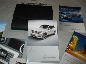 2010 Mercedes Benz GLK-Class Operators Manual with Case
