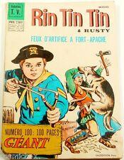 RINTINTIN & Rusty n° 100 spécial géant revue mensuel 1968 magazine Fort Apache