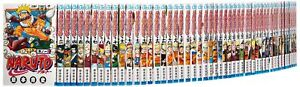Used-MANGA-NARUTO-Comic-Book-Vol-1-72-lot-ALL-Complete-set-Japanese-Jump-Comics