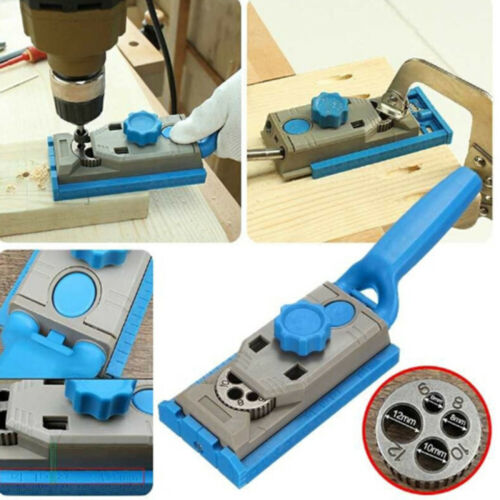 Pocket Hole Jig Drill Guide for Woodworking DIY Carpentry Joinery Projects