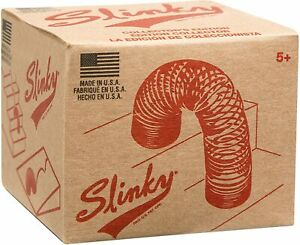 RETRO ORIGINAL  COLLECTORS EDITION SLINKY WALKING SPRING TOY - MADE IN THE USA