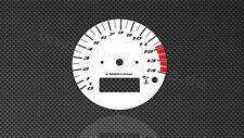 Yamaha yzf r1 rn01 98-99 velocímetro disco velocímetro gauge dial plates
