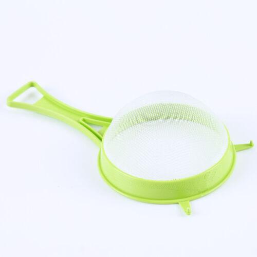 Plastic Handle Accessories Gadget Kitchen Tools Sieve Strainer 4Pcs//Set