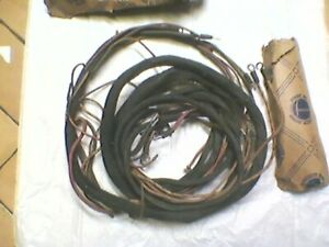 1939 Studebaker Commander President Coupe Express Wiring Harness