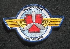 MID-ATLANTIC-AIR-MUSEUM-EMBROIDERED-SEW-ON-PATCH-MAAM-READING-PA-4-7-8-034-x-3-034