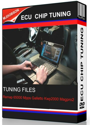 Télécharger Chip Tuning ECU ver 2 fichier réaffecter 65000 MPPS GALLETTO Kwp2000 magpro 2