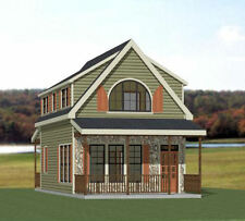 18x30 Tiny House -- PDF Floor Plan -- 999 sq ft -- Model 11