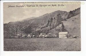BEZIRK-AMSTETTEN-ST-GEORGEN-AM-REITH-STRAHOFER-S-GASTHAUS-1923-Q