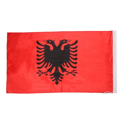 Quality 5x 3ft Country Flag Albania National Flag Football  Decor