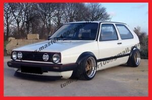 VW-GOLF-JETTA-mkII-mk2-WHEEL-ARCH-EXTENSIONS-FENDER-FLARES-VOOMERAN-look