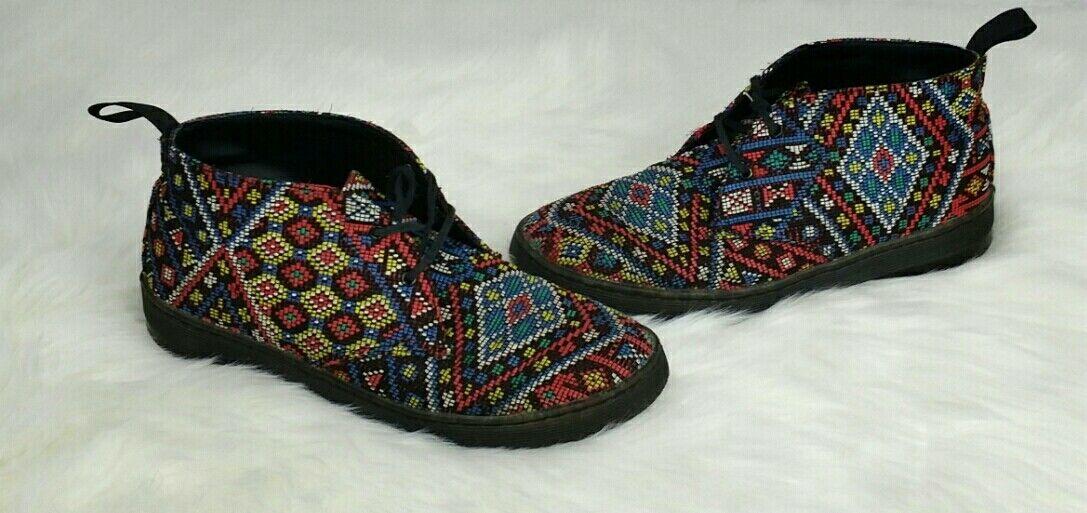 Dr Martens DAYTONA Aztec Style shoes Size UK 7