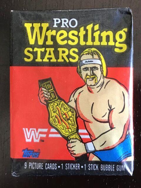 1985 Topps Pro Wrestling Stars WWF Wax Pack