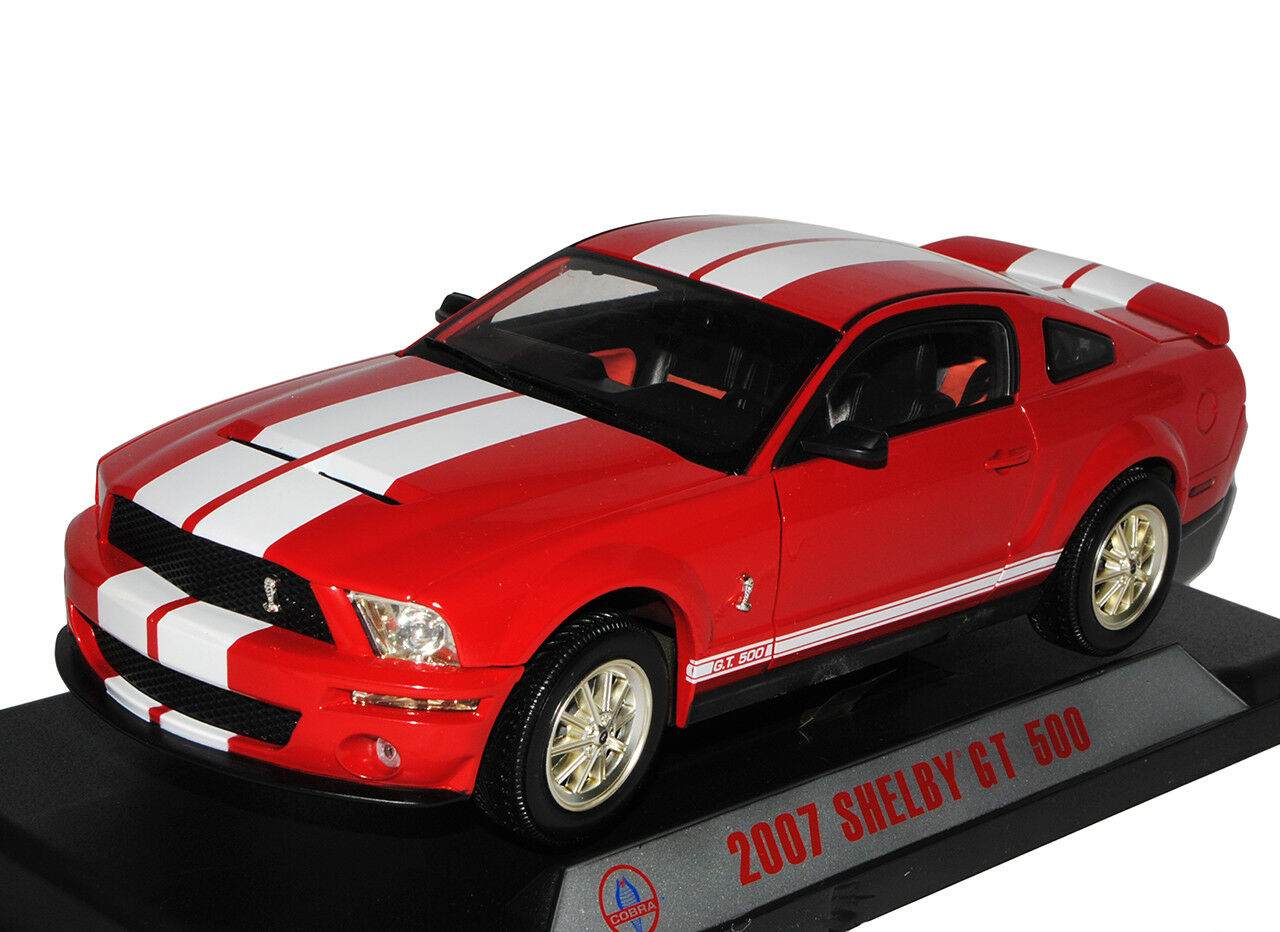 Ford Mustang V 1. Generation Shelby GT-500 GT-500 GT-500 Rot mit Weißen Streifen 2007 2004-2..  | Sale Outlet