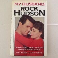Rock Hudson Marriage By X Wife 50s Movie Star Gay Liz Taylor Bogart HC/DJ